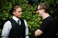 The Lost City of Z Charlie Hunnam and James Gray Set Photo 2 (12)