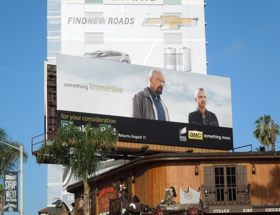 Breaking Bad 5 Emmy Consideration billboard