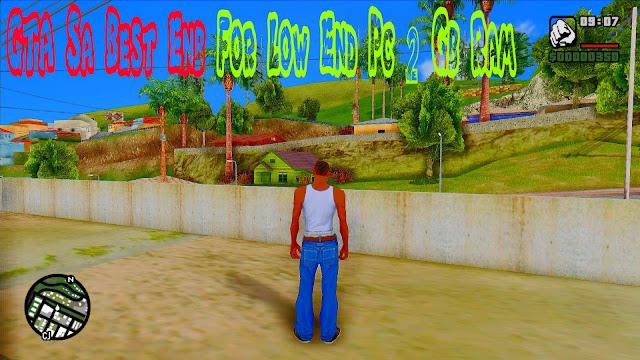 GTA Sa Best Enb For Low End Pc 2 Gb Ram