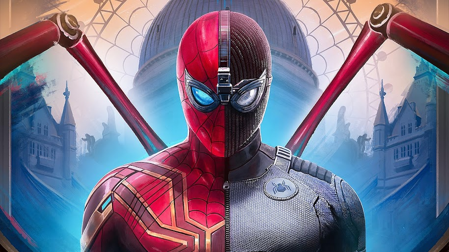 Spider Man Far From Home Iron Spider Stealth Suit 8k