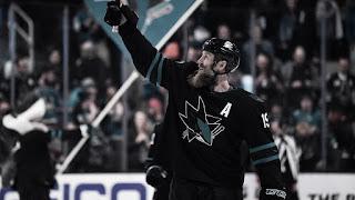HOCKEY HIELO - 1600 partidos para Joe Thornton en la NHL