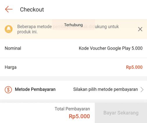 Konfirmasi Pembayaran di ShopeePay