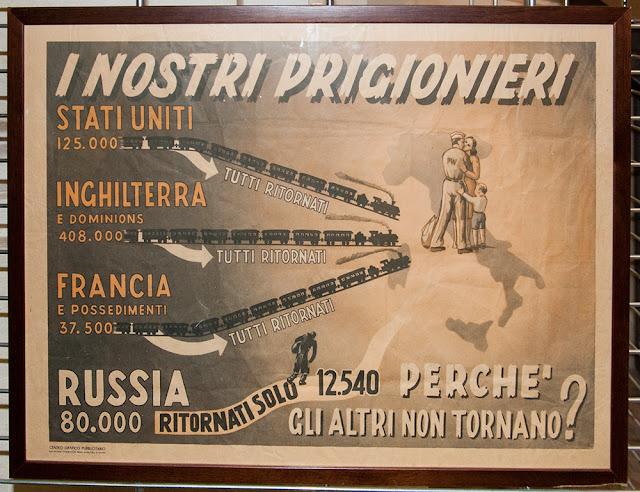 Mostra 70° anniversario battaglia di Nowo-Postojalowka Nikolajewka alpini russia ritirata