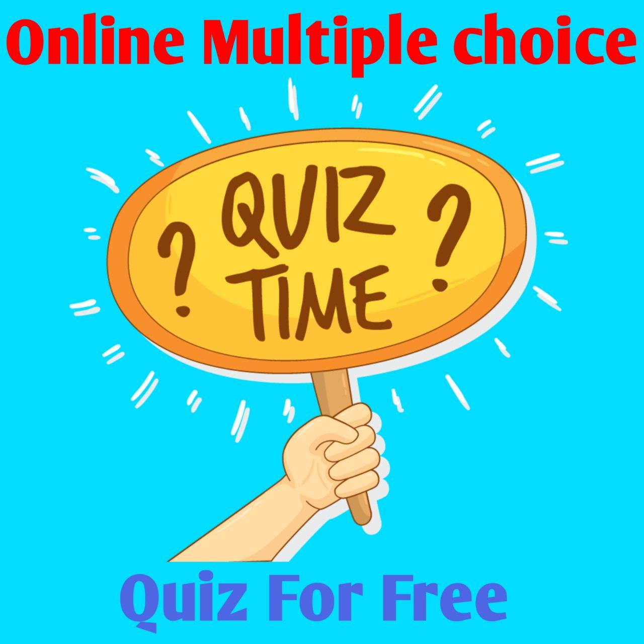 Online Multiple choice quiz game for free