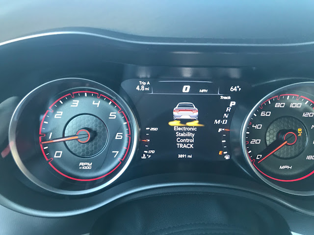 Track Mode indicator in 2020 Dodge Charger R/T Scat Pack Plus