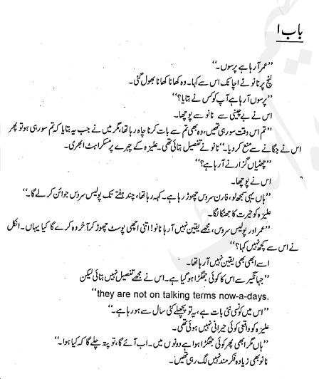 Online pdf books: Amarbail Urdu novel by Umaira Ahmad download