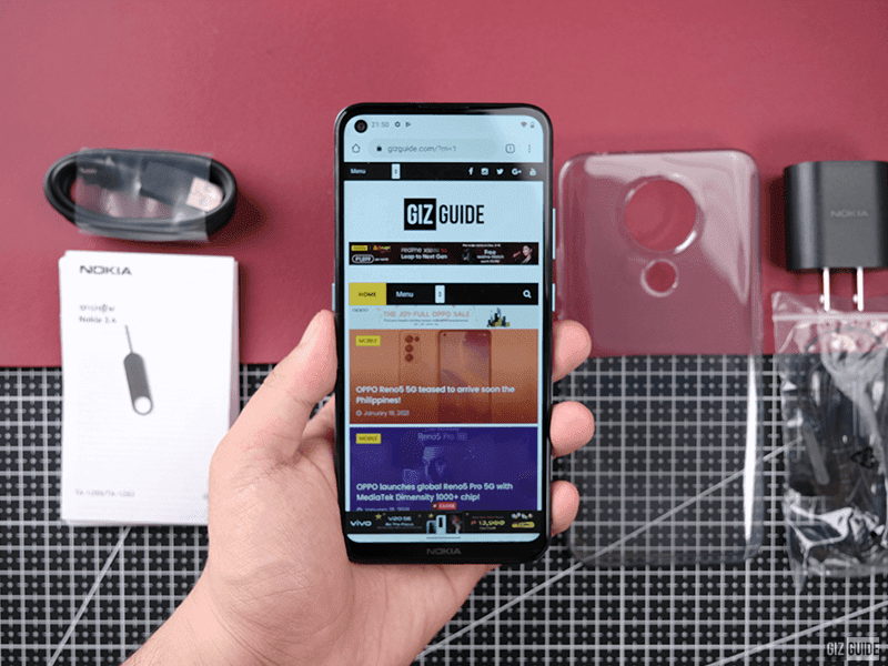 Budget smartphone packed with essential features