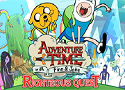 juegos adventure time Rigtheous Quest