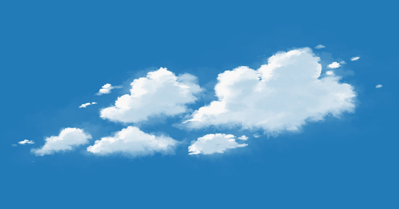 Photoshop Custom Cloud Brush Tutorial