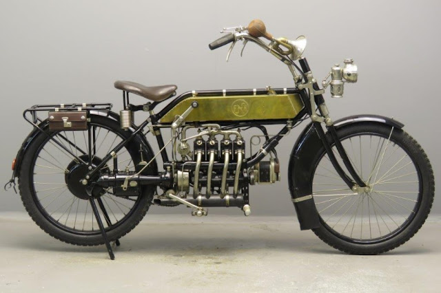 FN Four vintage motorcycle