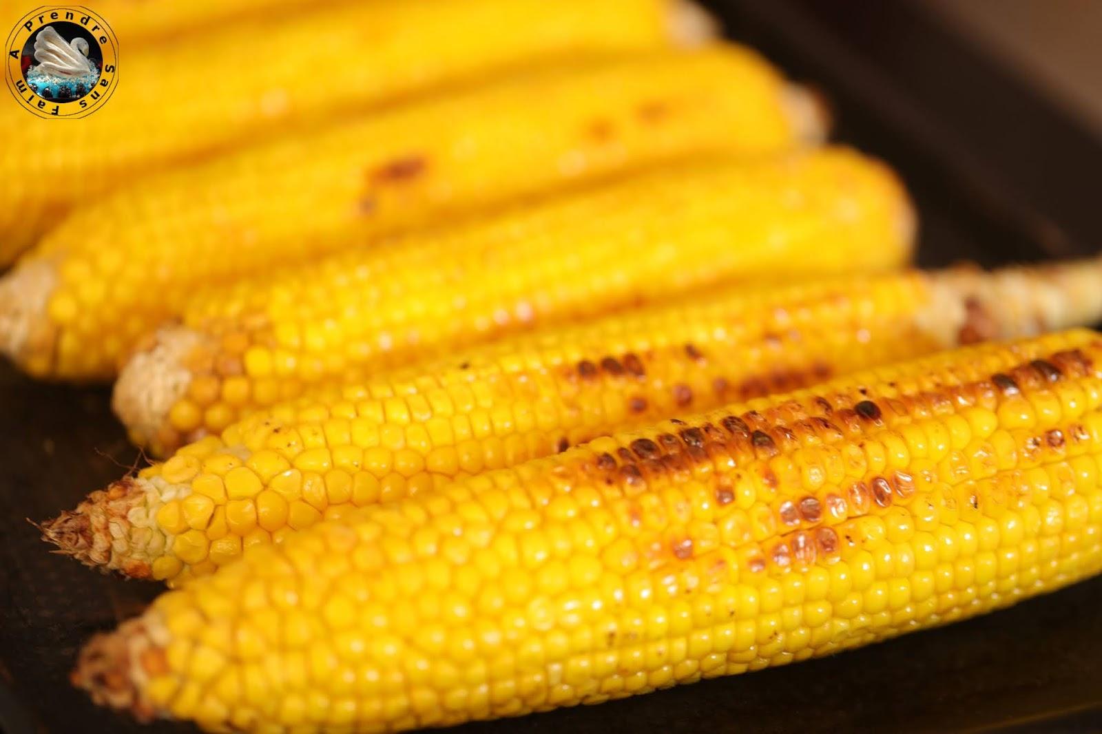 Maïs grillé au beurre parfumé