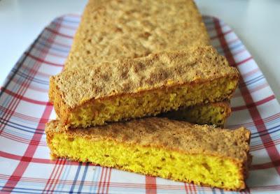 Orangen-Polenta Kuchen