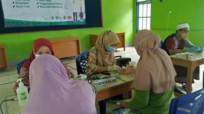 BMT Binamas Cabang Pituruh Gelar Program Tenda Kesehatan di Polowangi