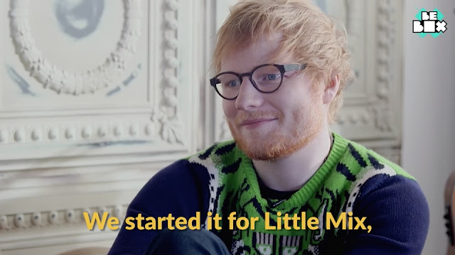 Ed Sheeran intended Shape of You to be for Little Mix