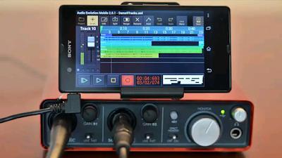 تطبيق أستوديو الهندسة الصوتية تسجيل الصوت باحترافية | Audio Evolution Mobile Studio برنامج رائع