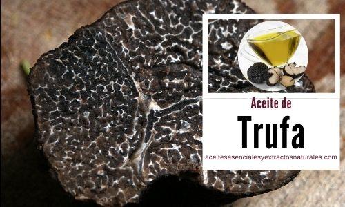 El Aceite trufado, es un producto de alta cocina moderno