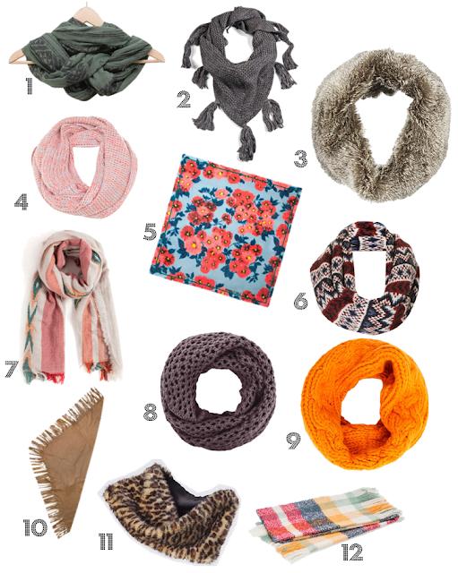 Ideas de bufandas y pañuelos para darles color a tus looks