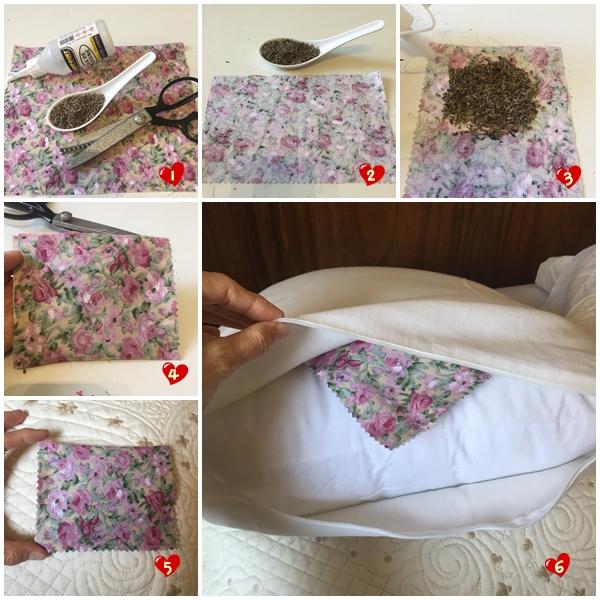 sachê de lavanda para colocar no travesseiro