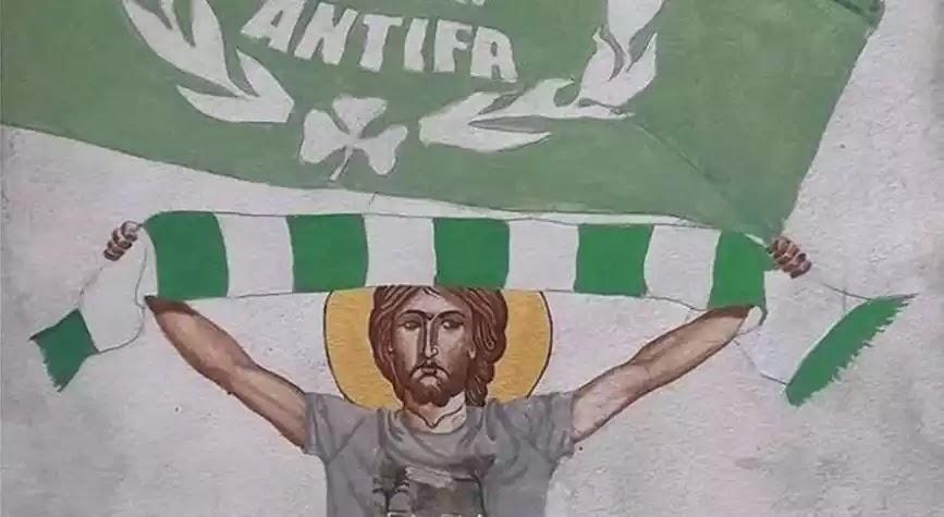 Κατακραυγή για «Καθηγητή»  στην Κύπρο  ζωγράφισε τον Χριστό ως χούλιγκαν