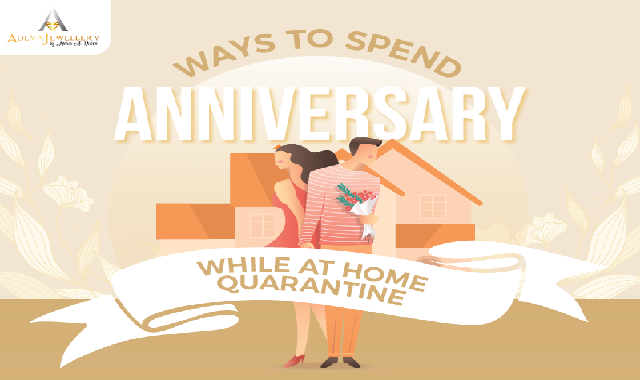 Ways To Spend Anniversary While At Home Quarantine #infographic