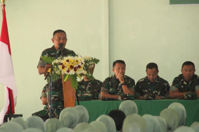 Lagi, Pangdam IV Ingatkan Peran Persit dilingkungan Satuan TNI AD