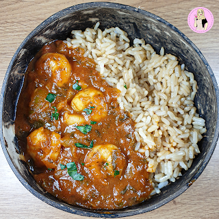 Prawn Masala Curry Recipe | Slimming