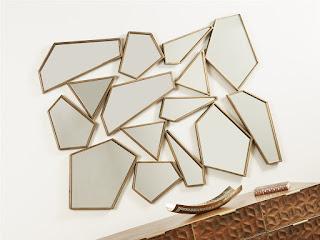 Espejo salon dorado