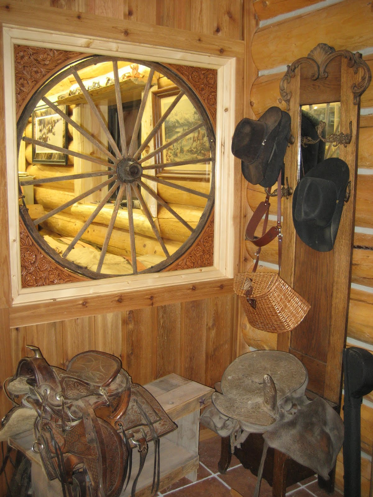 Rodeo Tales Amp Gypsy Trails Ranch House Style A Saddle