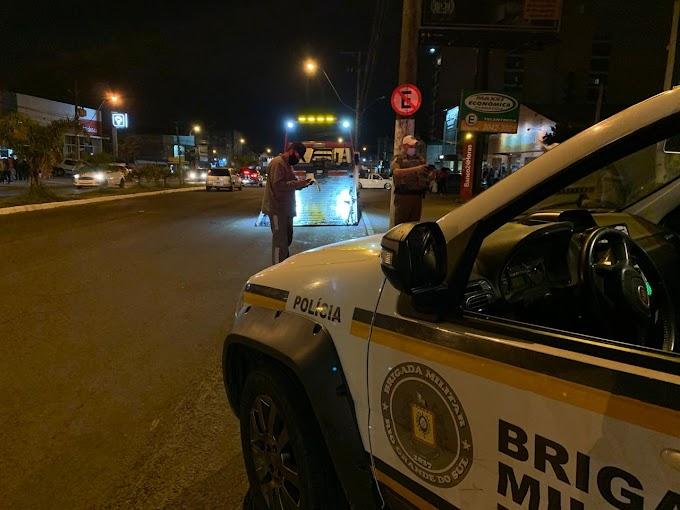 Brigada Militar realiza operação Silêncio na Cidade em Gravataí