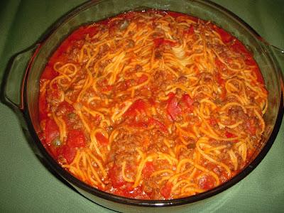 Margaret's Morsels | Baked Spaghetti