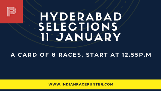 Hyderabad Race Selections 11 January