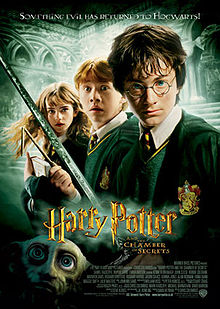 Harry Potter and the Chamber of Secrets 2002 movieloversreviews.filminspector.com Daniel Radcliffe film poster