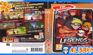 تحميل لعبة Naruto Shippuden Legends Akatsuki Rising psp iso مضغوطة لمحاكي ppsspp