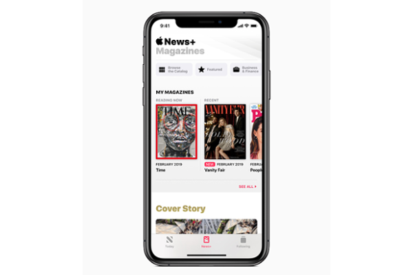 Apple News+ subscription service with access to over 300 publications launched