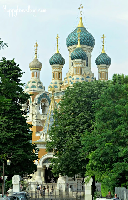 Russian Orthodox Cathedral in Nice, France
