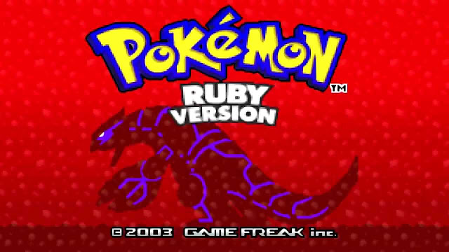A relação do Game Boy Advance com Pokémon