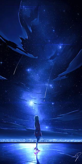 Sự cô đơn giữa màn đêm