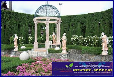 konsep taman klasik (gardensmartindo)