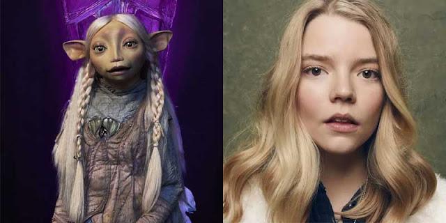 Anya Taylor-Joy es Brea en 'Cristal Oscuro: La era de la Resistencia'