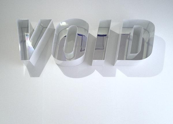 Novecento mai visto - Brescia - Daimler Art Collection - Pietro Sanguineti, Void, 2010