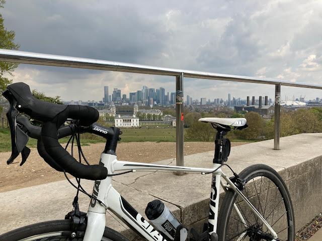 Greenwich Park London Skyline