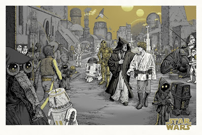 """Star Wars """"We Must Be Cautious"""" Screen Print by Mike Sutfin x Mondo"""