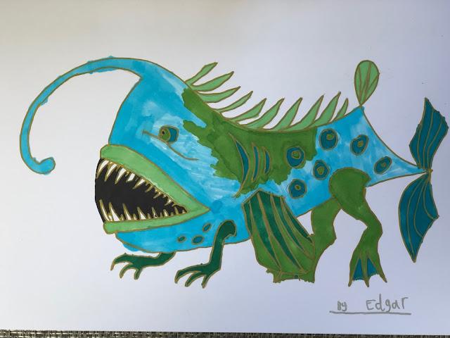 Chez Maximka, children's art