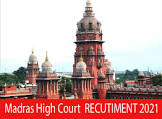 Madras High Court Recruitment 2021 - Apply Online for 3557 Office Assistant, Night Watchman, Sweeper, Gardener, Sanitary Worker, Attender, Watchman Posts