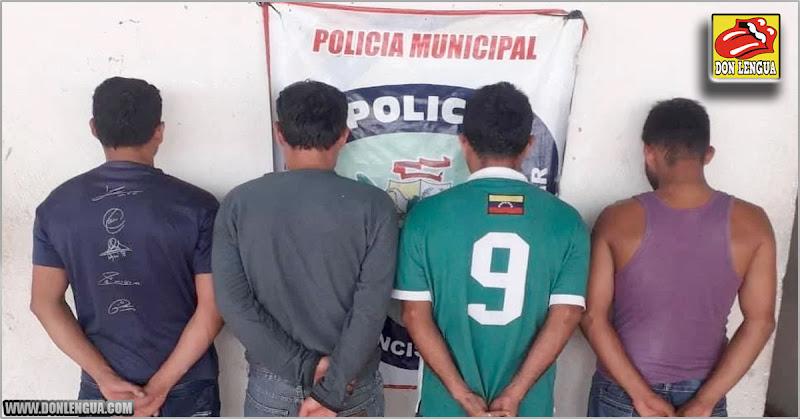 """Detenidos cuatro """"choros"""" de motos al sur del Lago de Maracaibo"""