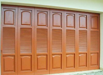 pintu garasi lipat sederhana