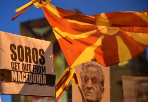 Citizens said: Soros get out from Macedonia