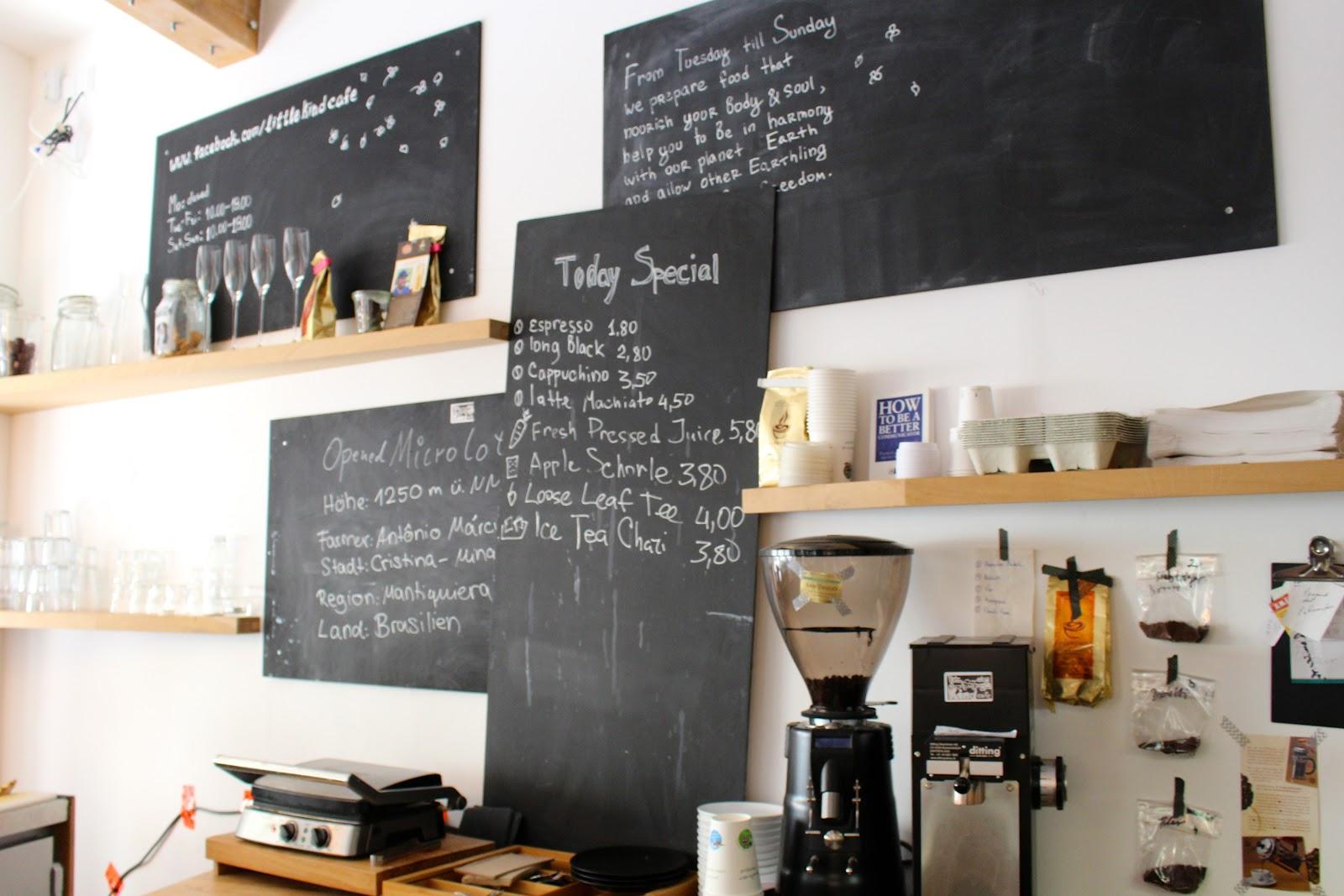 Little Kind Cafe Munich menu