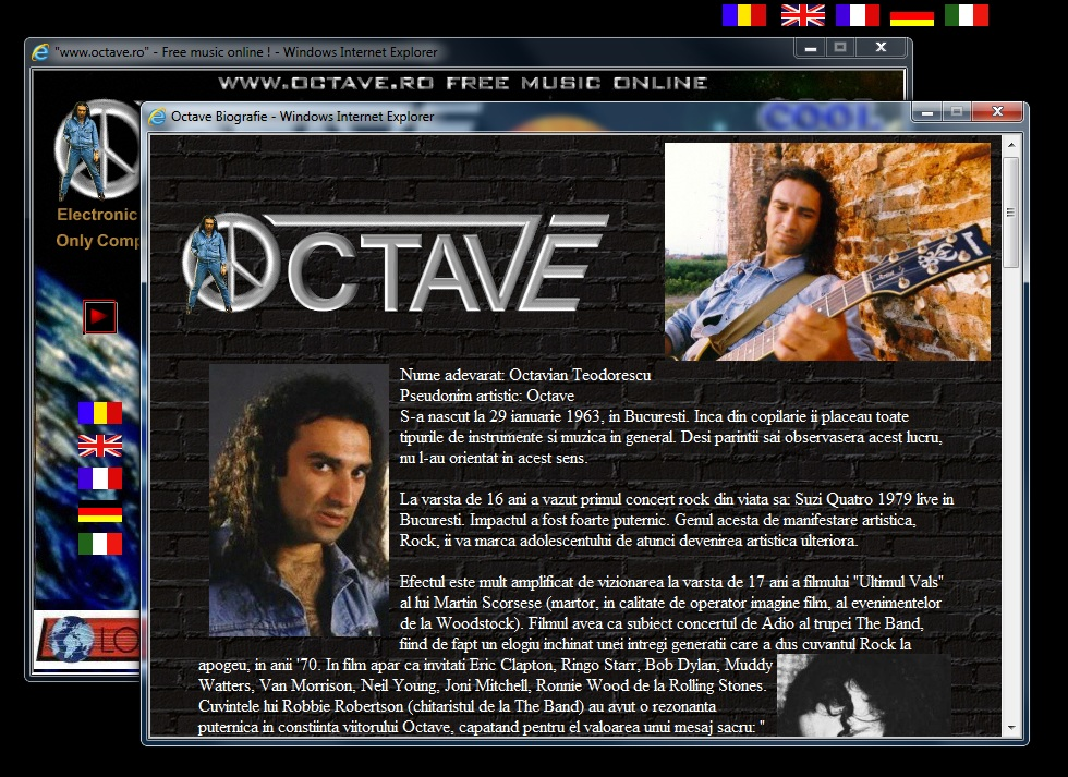 Octave Octavian Teodorescu Free Music Online CD-ROM