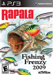 Rapala Fishing Frenzy 2009 PS3